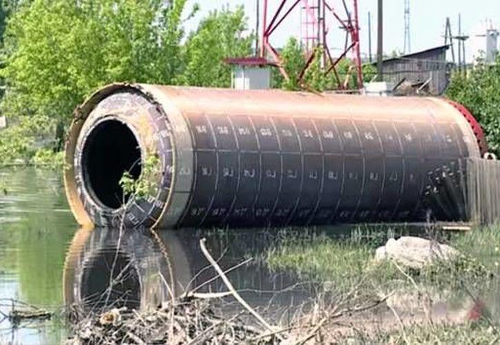El misil fue encontrado en Altái, sur de Rusia. (YouTube)