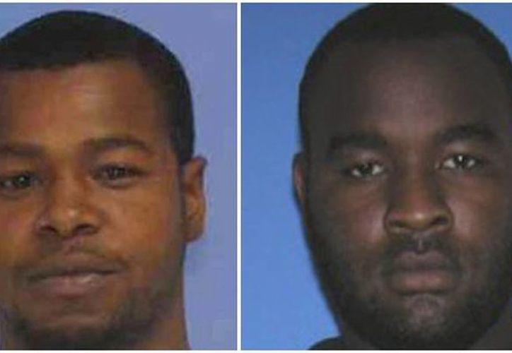 Marvin Banks (i), de 29 años, y su hermano Curtis son dos de las tres personas arrestadas por los disparos que mataron a dos policías en Mississippi. (Foto: AP)