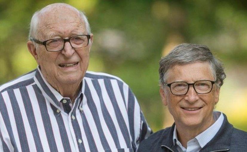 William H. Gates Sr y Bill Gates / Instagram