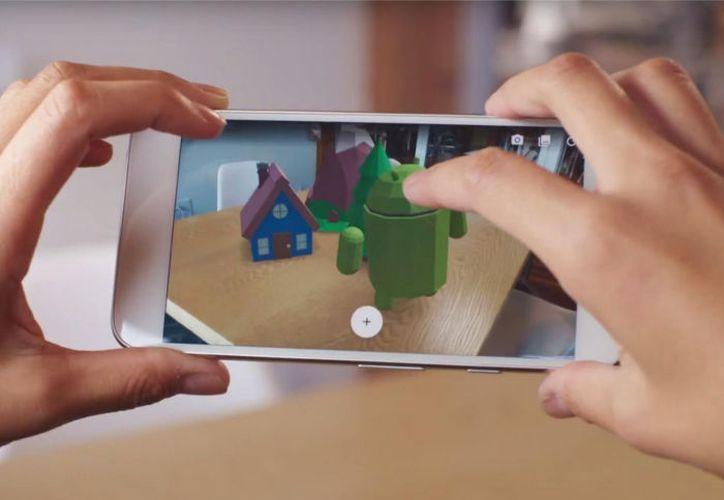 Google pone la realidad aumentada al alcance de los teléfonos con sistema Android. (Contexto/Internet)
