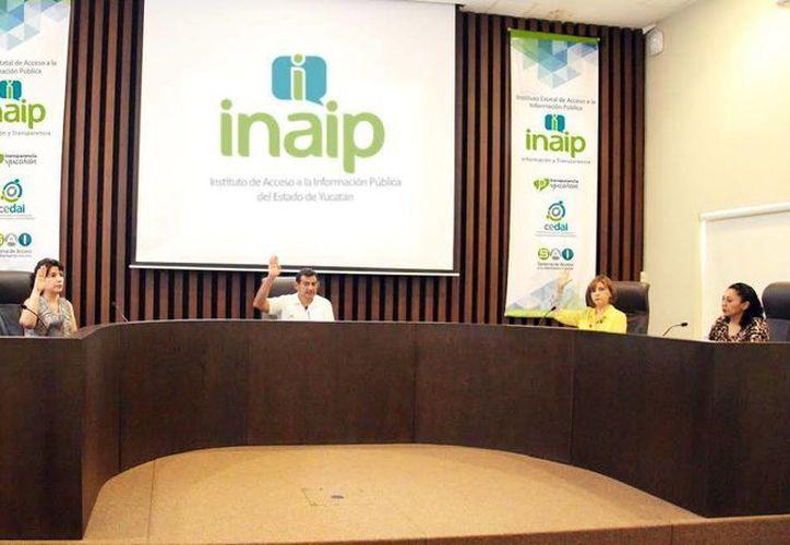 Se aprobaron los estados financieros y los informes de actividades durante la sesión pública del Consejo General del Instituto Estatal de Acceso a la Información Pública (Inaip). (Milenio Novedades)