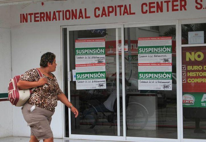 La Profeco clausuró ICC que ofrecía créditos hasta de 500 mil pesos. (Ángel Castilla/SIPSE)