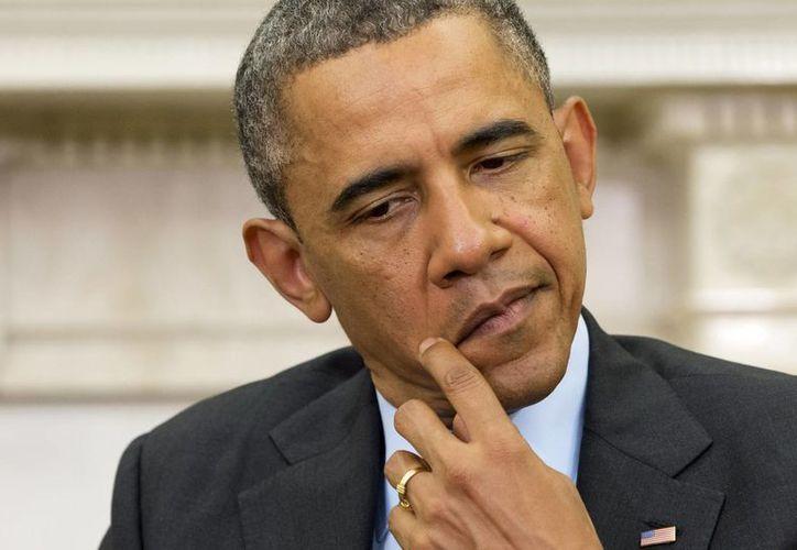 El presidente Barack Obama quedó en el centro de la controversia. (Agencias)
