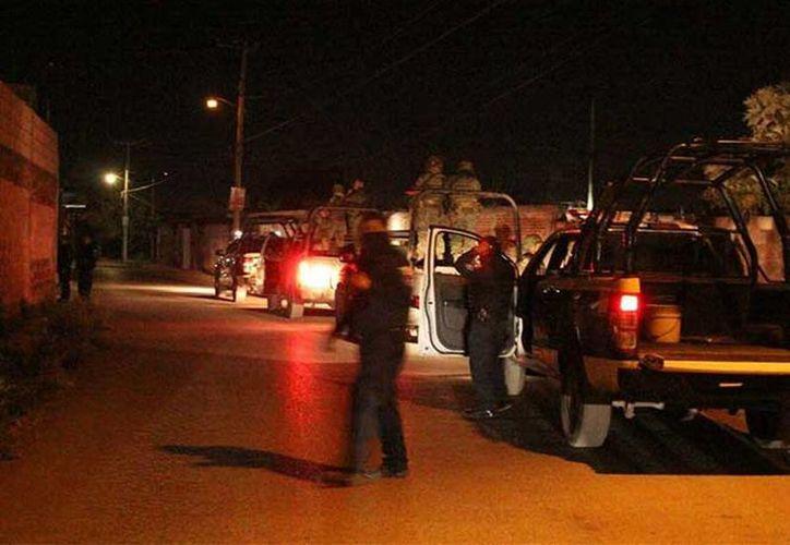 Los hechos se registraron alrededor de las 21:30 horas sobre la calle Laurel. (Tonantzin Sánchez/excelsior.com.mx)