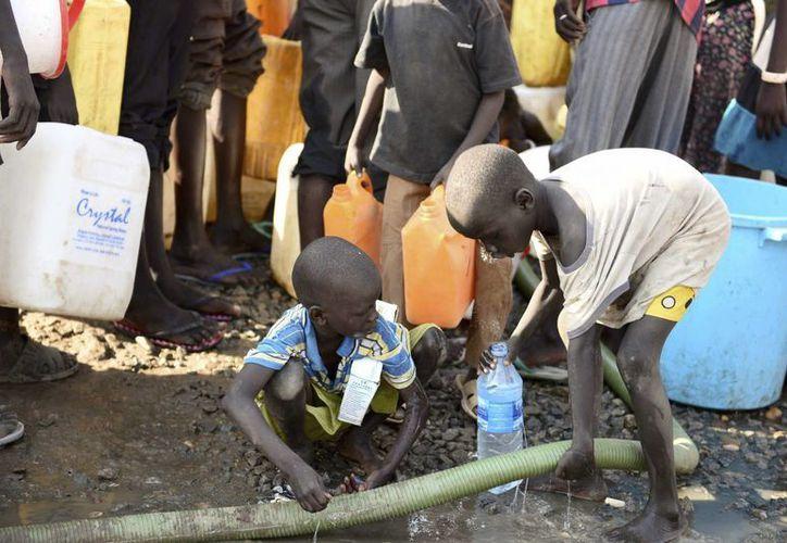 Mujeres y niñas son las más afectadas por la falta de agua, indica Unicef. (EFE)