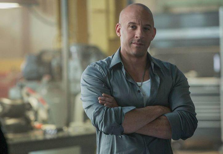 Vin Diesel en una escena de Rápidos y furiosos 7. (Agencias)