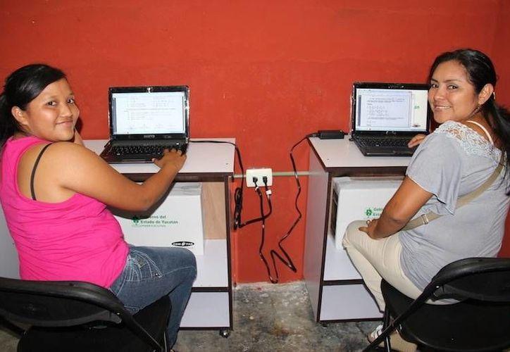 Bienestar Digital les brinda la oportunidad de obtener una computadora con programas educativos. (Cortesía)