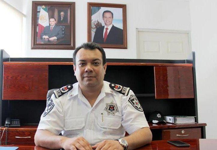 El titular de la Dirección de Seguridad Pública advirtió que la corporación que dirige no permitirá actos ilícitos. (Cortesía)