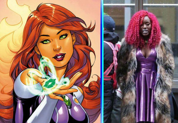 Anna Diop es la nueva 'Starfire' de la serie 'Titans' en Toronto y causa molestia entre los fans. (Vanguardia MX)