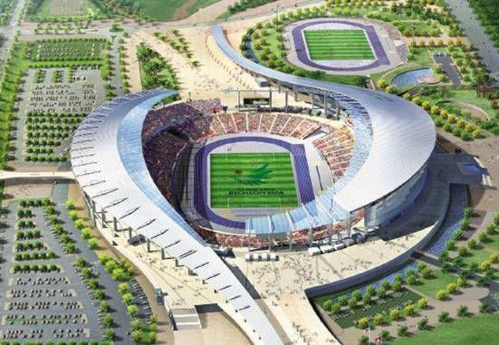 El estadio principal de los Juegos Asiáticos 2014, en Corea del Sur. (seo.incheon.kr)