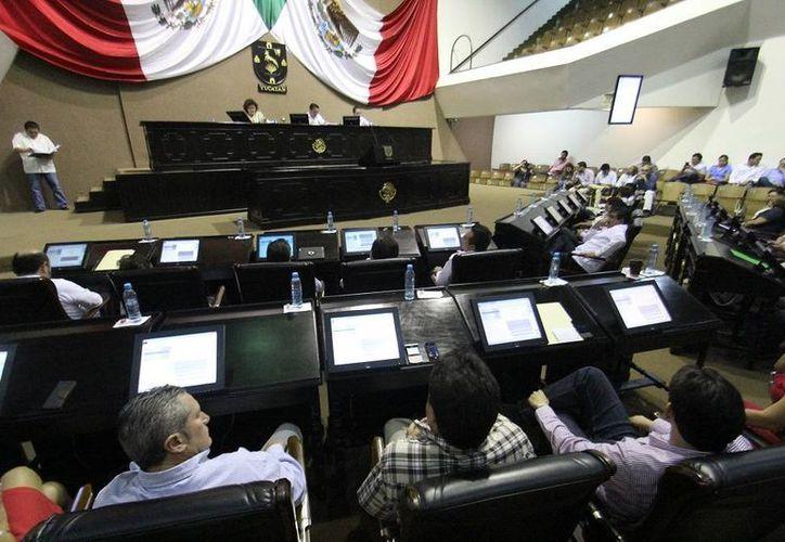 Diputados tuvieron este martes una sesión muy tranquila. (SIPSE)