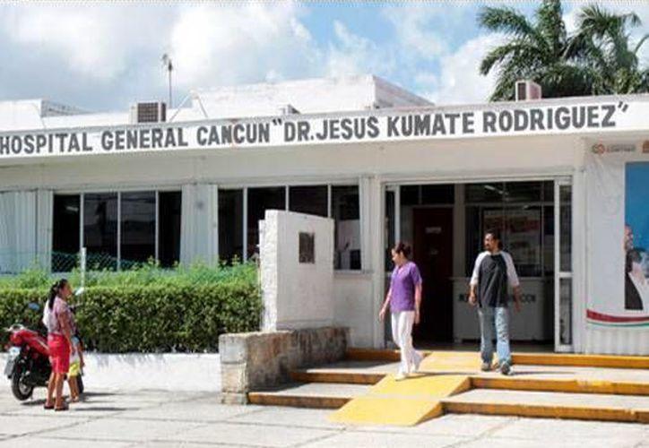 El nuevo nosocomio de Cancún promete tener cuatro camas. (Redacción/SIPSE)