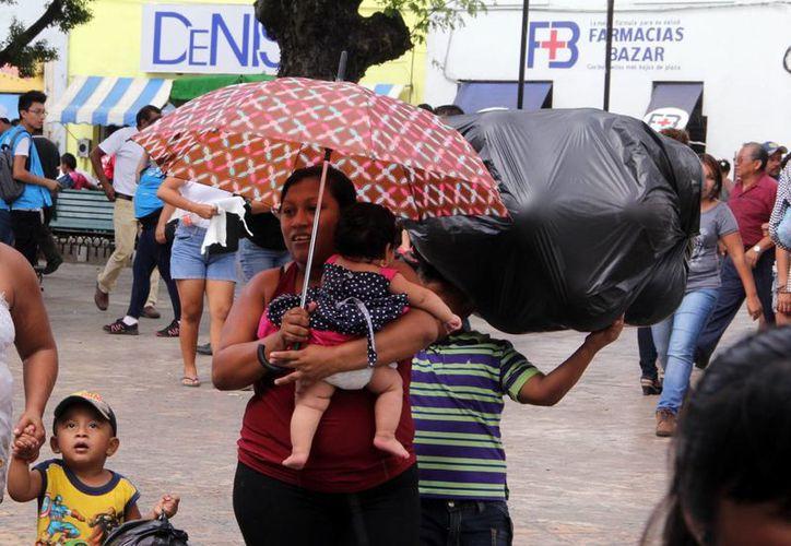 El Centro Hidrometeorológico Regional de Mérida pronostica que se mantendrá el bochorno y que este jueves lloverá intensamente en Yucatán. (SIPSE)
