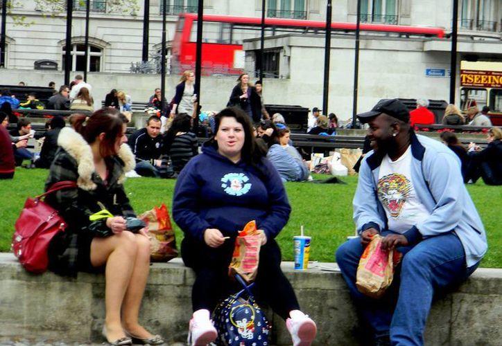 Uno de cada cuatro británicos padece obesidad, según estudios. (fluidlondon.co.uk)