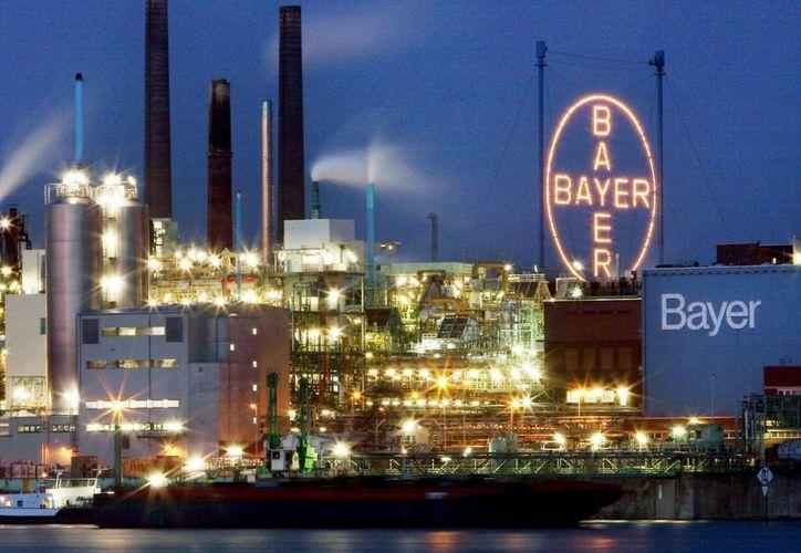 Bayer confirmó por medio de un comunicado la compra del fabricante estadounidense de transgénicos Monsanto. (EFE)