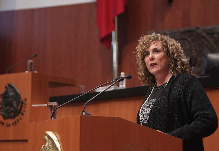 Beristáin Navarrete informó que se mantiene como presidenta de la Segunda Comisión de trabajo. (Redacción/ SIPSE)