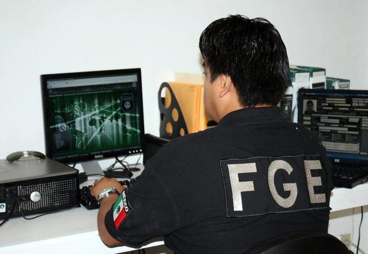 La Policía Cibernética da seguimiento a denuncias de fraudes en internet. (Milenio Novedades)