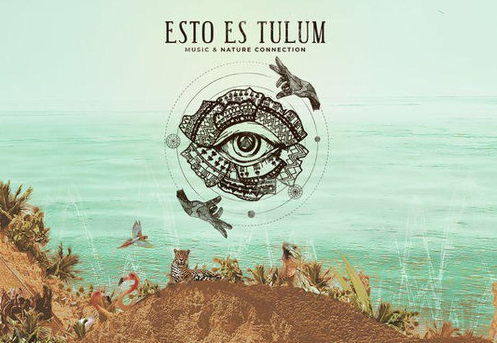 """""""Esto es Tulum"""", se diferencia de la música que ofrecerá y que se tocará con instrumentos prehispánicos mayas. (Redacción)"""