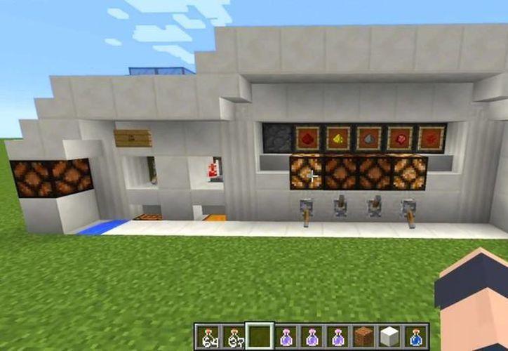 Los niños podrán crear su propia ciudad al estilo Minecraft en la actividad grupal. (Contexto/Internet)