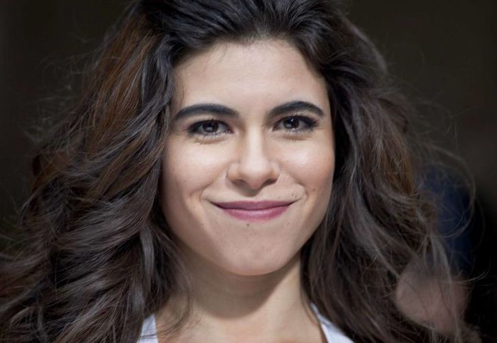 La actriz Sofía Espinosa es la encargada de dar vida a Gloria Trevi en la película producida por Matthias Ehrenberg. (Notimex)