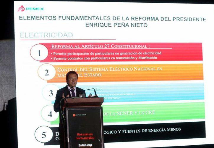 Lozoya indicó que la paraestatal requiere de grandes inversiones. (Notimex)