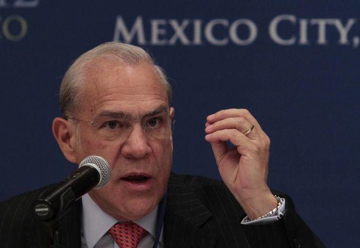 Jose Ángel Gurria, titular de la OCDE. (Archivo Agencias)