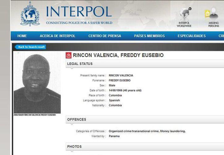 """Rincón dijo que la página """"no está actualizada"""". (Captura de pantalla)"""