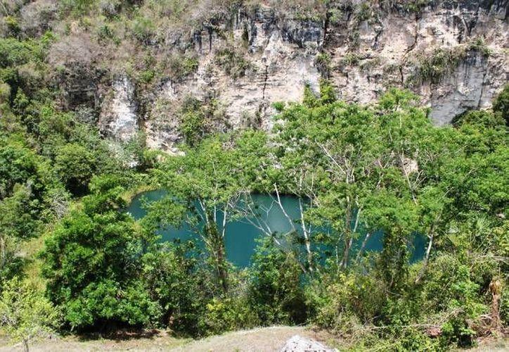 Uno de los lugares más importantes es el cenote del Cocodrilo. (Redacción/SIPSE)