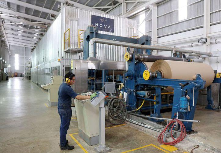 Cifras del Inegi indican que en 2017 la producción manufacturera yucateca creció un 10.8 por ciento con respecto a 2016. (Milenio Novedades)