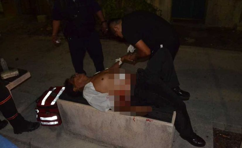 Un hombre resultó gravemente herido tras resistirse a ser asaltado por dos sujetos en la colonia Colosio. (Redacción/SIPSE)