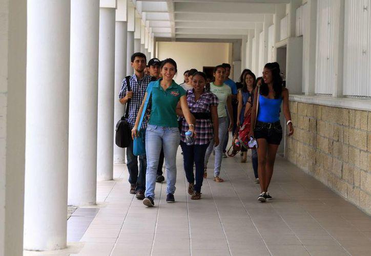 Los estudiantes becados podrán conocer las iniciativas en el contexto europeo. (Ángel Castilla/SIPSE)