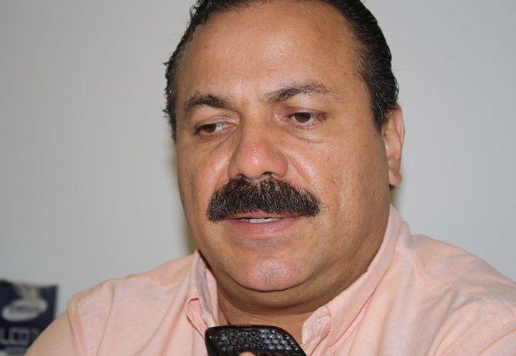 El munícipe declaró que las finanzas del ayuntamiento de Benito Juárez son sanas y complicadas; argumentó que cuando dio inicio su mandato, la carga que le heredaron casi triplicó la deuda histórica del municipio. (Juan Palma/SIPSE)