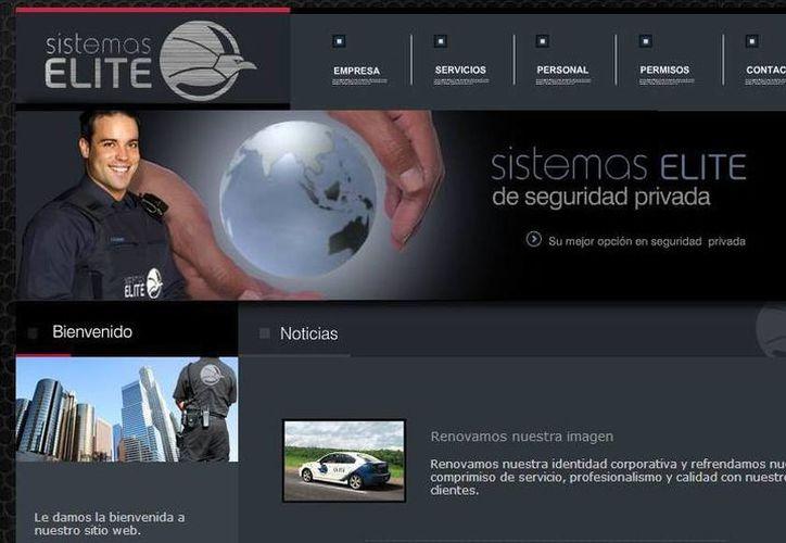 El jefe de seguridad de Héctor Beltrán Leyva es el principal accionista de esta empresa de seguridad en Guadalajara, indicó EU. (Captura de pantalla)