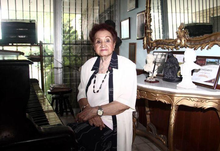 Judith Pérez Romero fue reconocida a nivel nacional e internacional. Falleció ayer a la edad de 96 años. (Milenio Novedades)
