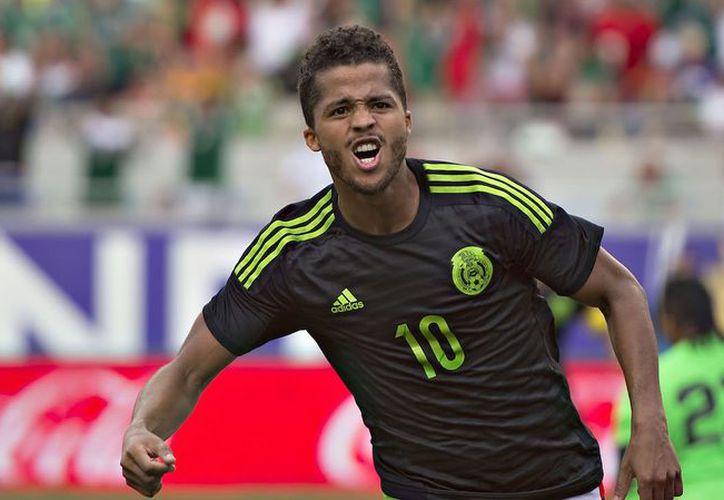 Gio se incorporó al Tri ayer, debido a que seguía en competencia con el Galaxy en la MLS. (Foto: Contexto/Internet)