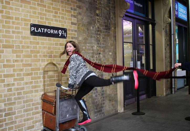 En la obra de J.K. Rowling, Harry Potter y sus amigos atraviesan una pared. (Contexto/Internet)