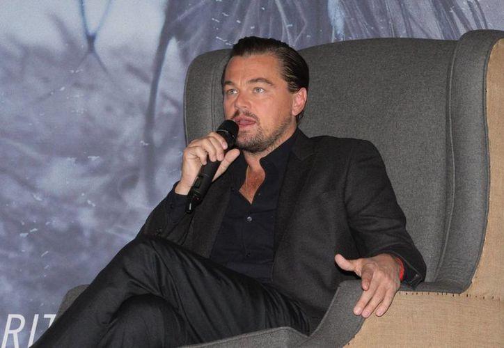 Leonardo DiCaprio visitó este martes la capital del país para promocionar la cinta 'The Revenant', la cual ocupa los primeros lugares de la taquilla mexicana. (Imágenes de Notimex)