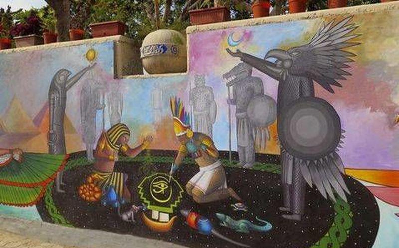 Arte Mural Egipcio