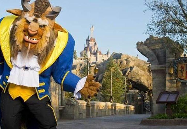 Castillo de la Bella y la Bestia en Walt Disney World. (Contexto/Internet)