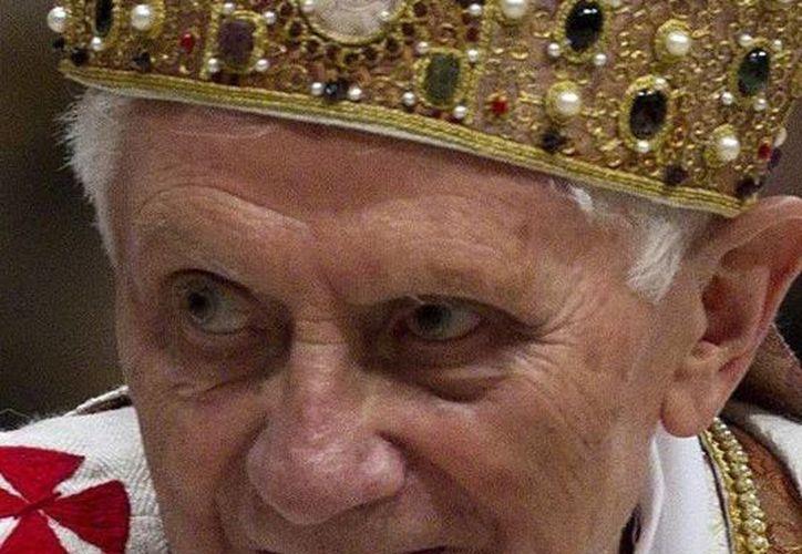 Benedicto XVI inicia la recta final de su pontificado. (EFE)