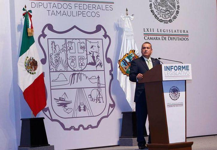 Beltrones dijo en Tamaulipas que las reformas impulsadas por el gobierno federal sacarán al país de la mediocridad. (Facebook/Manlio Fabio Beltrones)