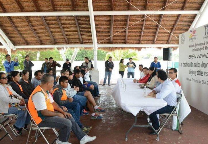 La Federación Mexicana de Deporte para Ciegos y Débiles Visuales busca integrar a Q. Roo a sus filas. (Adrián Barreto/SIPSE)