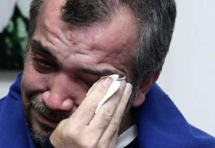 John Jairo Guzmán se recupera en Bogotá del secuestro del que fue objeto en el Distrito Federal. (elcolombiano.com)