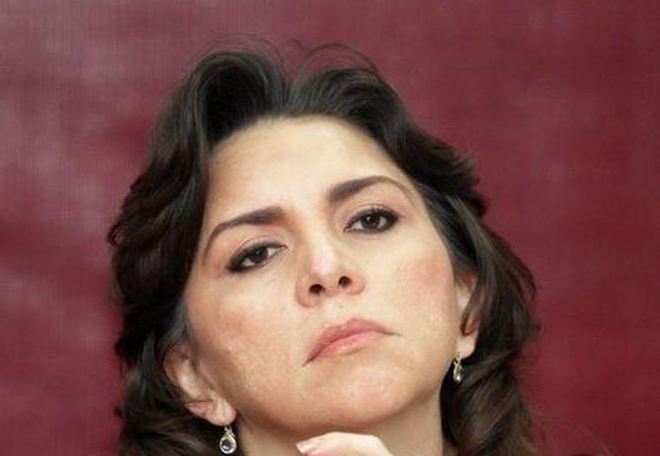 La secretaria general del CEN del PRI, Ivonne Ortega, asistió al cónclave de senadores. (Notimex/Foto de archivo)