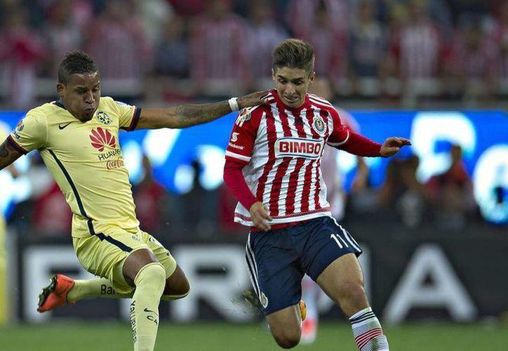 Águilas y Chivas se juegan el primer capítulo de los cuartos de final en la liguilla del futbol mexicano la noche de este jueves.(Mexsport)