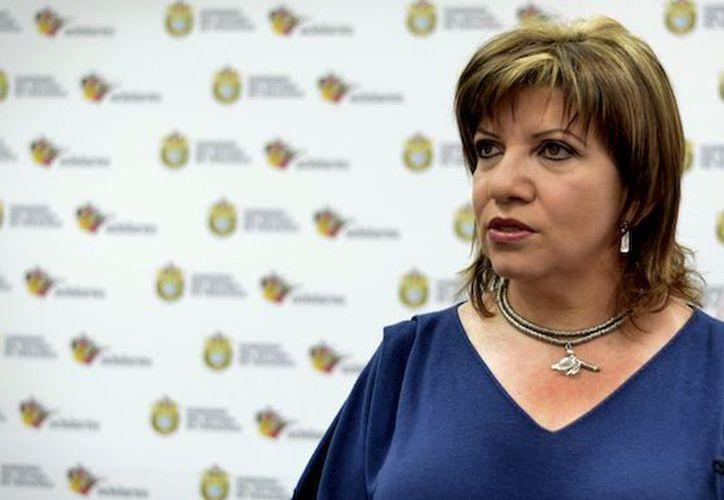 Gina Domínguez, ex coordinadora de Comunicación Social de Veracruz. (SinEmbargo MX).