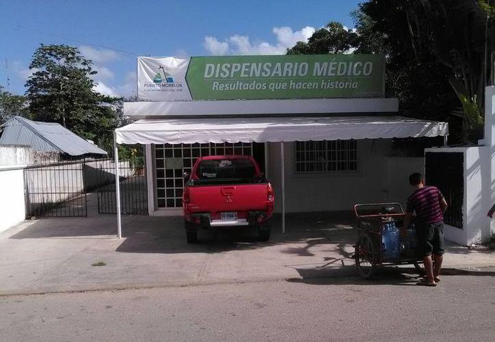 El dispensario está disponible para todos los locales. (Redacción/ SIPSE)