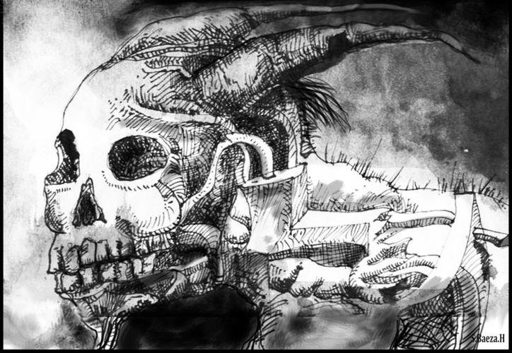 La historia del Huay Chivo en Yucatán es muy parecida a las de los Nahuales en Centroamérica. (Ilustración: Salvador Baeza)