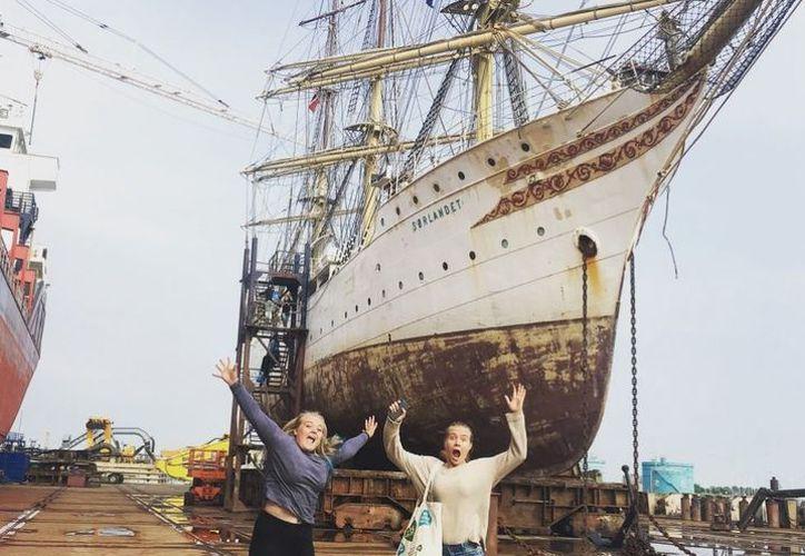 El velero arribará a Puerto Morelos el próximo 19 de febrero. (Foto: Cortesía Sorlandet)