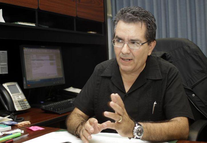 Luis López Pérez destacó que en Yucatán sólo hay una huelga. (Christian Ayala/SIPSE)
